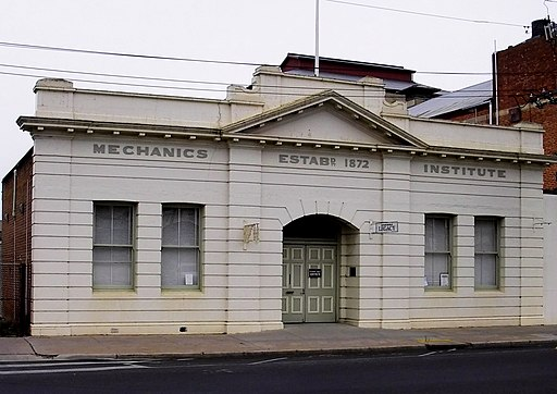 Horsham Australia Mechanics Institute building