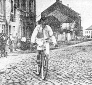 Liège–Bastogne–Liège - Léon Houa won the first three editions of Liège–Bastogne–Liège in the late 19th century.