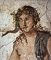 House of the Prince of Naples Pompeii Plate 165 Exedra Bacchus closeup MH.jpg