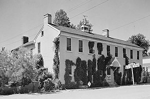 National Register of Historic Places listings in Cooper County, Missouri - Image: Houston Tavern, Arrow Rock State Park, Arrow Rock (Saline County, Missouri)
