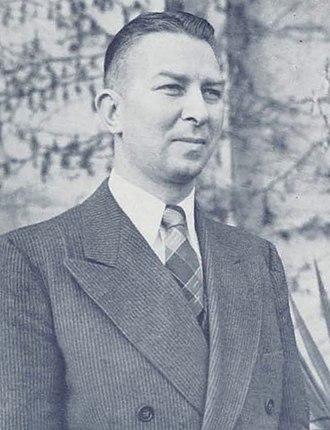 1938–39 Oregon Webfoots men's basketball team - Howard Hobson was the Webfoots' head coach in 1938–39