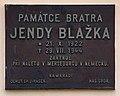 Hroznějovice čp34, plaque.jpg