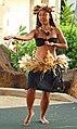Hula dancer in action, Poipu, Kauai, Hawaii (4829076827).jpg