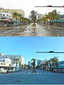 Hurricane Irma 2017 - Miami Beach - South Beach Washington Ave and 15th Street Before and After.jpg