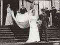 Huwelijk prinses Margriet en mr. Pieter van Vollenhoven. Prinses Beatrix en prin, Bestanddeelnr 018-1262.jpg