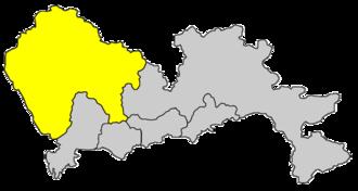 Bao'an District - Image: Hzs map 030