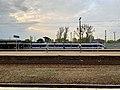 ICC Train approaching platform at Warszawa Zachodnia railway station, 2019.jpg