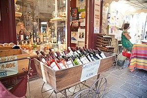 Boucoiran-et-Nozières - A wine shop in Boucoiran-et-Nozières