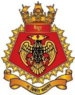 Seal of INS Mysore