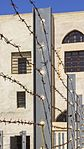 ISR-2015-Acre-Museum of the Underground Prisoners-Barbed wire 02.jpg
