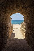 ISR-2016-Caesarea-Caesarea Maritima-Tunnel.jpg