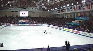 2007 European Figure Skating Championships - Image: ISU pairs Kemp&King 1 beax