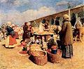 I L Gorohov Yablochnyj bazar 1913.jpg