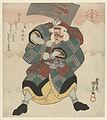 Ichikawa Danjûrô VII in de rol van Nekko no Yokizô-Rijksmuseum RP-P-1991-714.jpeg