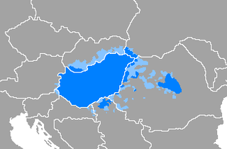 Hungarian language language spoken in and around Hungary