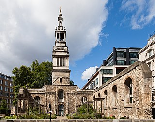 Christ Church Greyfriars Church in London