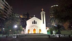Iglesia de nuestra se ora de los ngeles el golf for Nelson paredes wikipedia