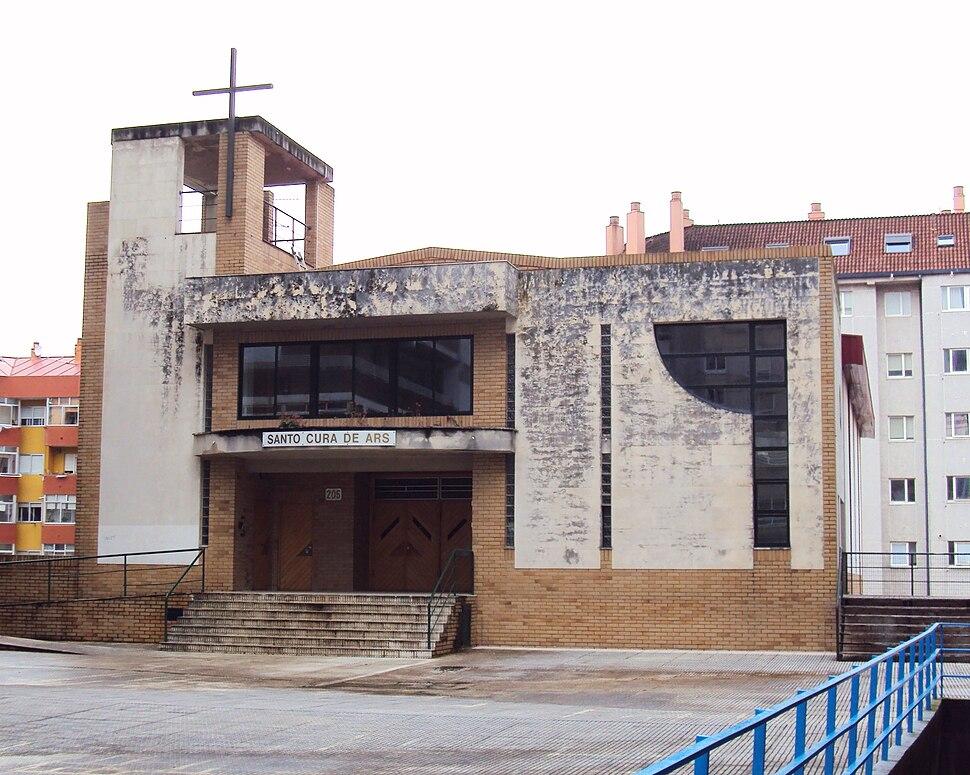 Igrexa parroquial de Santo Cura de Ars, Vigo, Galicia