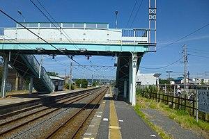 Iioka Station - The station platforms, August 2012