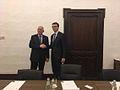 Iiri välisminister Charles Flanagan ja Eesti välisminister Sven Mikser (34189035351).jpg