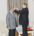 "Ilham Aliyev presented the ""Heydar Aliyev"" order to people's artist Arif Malikov 2.jpg"