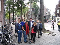 a few people in Amsterdam