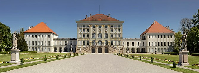 English: The Nymphenburg Palace (German: Schlo...
