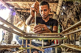 Images from Wiki Loves Africa 2017 (2) Workers make palm leaves of fruit and vegetables.jpg