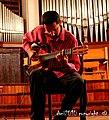 Improvisando con guitarra eléctrica en Sala Dolores - panoramio.jpg