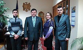 Liberal Party (Moldova) - Image: In vizita la viceprim ministru Ion Negrei