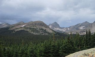 Front Range Mountain range of the Southern Rocky Mountains of North America
