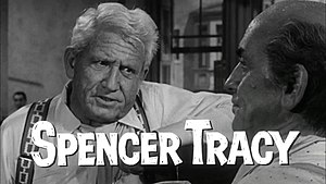 Clarence Darrow - Henry Drummond (left), a fictionalized version of Clarence Darrow, as portrayed by Spencer Tracy in Inherit the Wind.