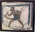 Insegna di bottega con mercurio che avanza col fallo eretto, da pompei, I sec dc, s.n..JPG
