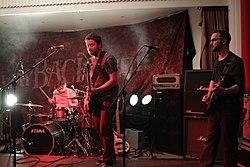 Instrument beim Way Back When Festival, 2014