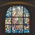 Interieur, rondboogvenster met glas-in-lood - Geleen - 20322141 - RCE.jpg