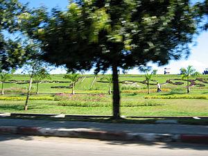 Inya Lake - Inya Lake Park grounds