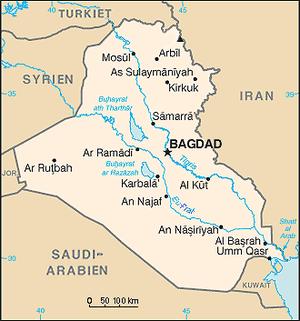 karta irak Iraks geografi – Wikipedia karta irak