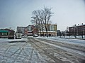 Irkutsk. February 2013. Barguzin, regional court, bus stop Volga, Diagnostic Center. - panoramio.jpg