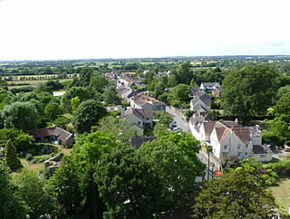 Iron Acton village in the United Kingdom