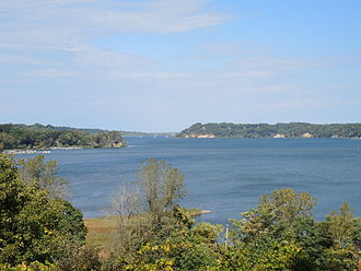 Irondequoit Bay - View from Lucien Morin Park in Penfield, New York