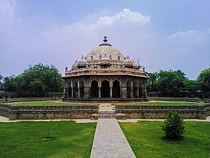 Isa Khan Niazi - Isa Khan Niyazi's tomb in the Humayun's Tomb complex.
