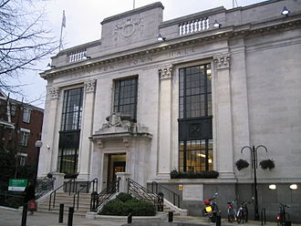 Metropolitan Borough of Islington - Image: Islington Town Hall