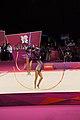 Israel Rhythmic gymnastics at the 2012 Summer Olympics (7915056210).jpg