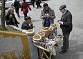 Istanbul, Galata Bridge, tobacco merchants - Стамбул, Галатский мост, торговцы табаком (17051973485).jpg