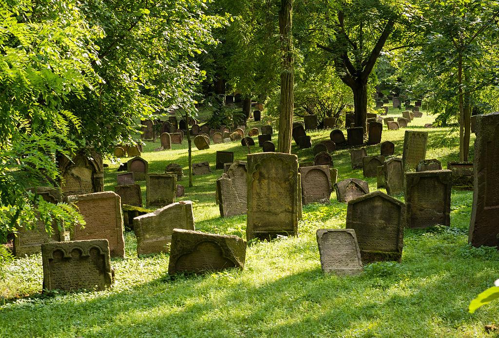 Jüdischer Friedhof Heiliger Sand in Worms (Kandidat für das UNESCO-Welterbe in Rheinland-Pfalz)