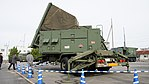 JASDF MIM-104 Patriot PAC-2 Radar Set(49-3168) left rear view at Kasuga Air Base November 25, 2017.jpg