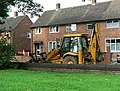 JCB in Park View Road - geograph.org.uk - 263081.jpg