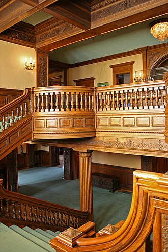 James J. Hill House - The grand staircase