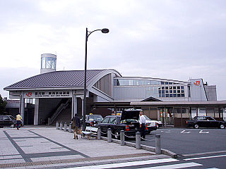 Toyokawa Station (Aichi) Railway station in Toyokawa, Aichi Prefecture, Japan
