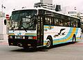JR shikoku kotoku express FUSO P-MS725SAkai.jpg
